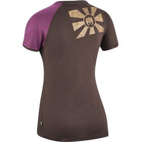 Edelrid Kamikaze II - T-shirt manches courtes Femme - marron